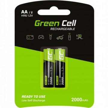 Akumulatorki AA R6 Green...